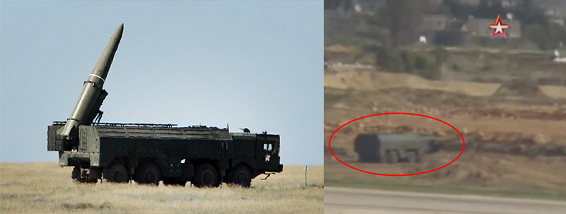 Russia Deployed 'Iskander' Missile Systems at Khmeimim Airbase in Syria? (Video)