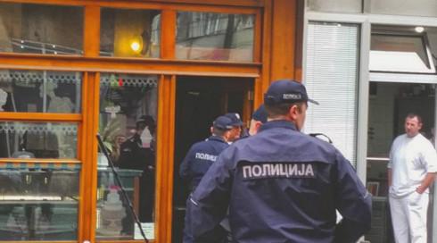 Man detonates hand grenade in Belgrade bakery