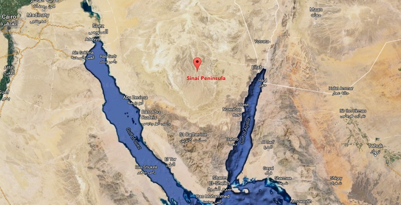 Egyptian army killed 60 terrorists in northern Sinai