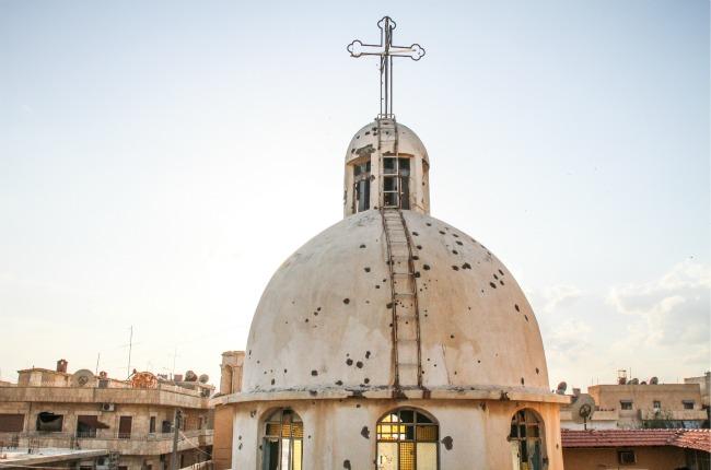 Blast at Orthodox Church in Ras Al-'Ayn, Syria