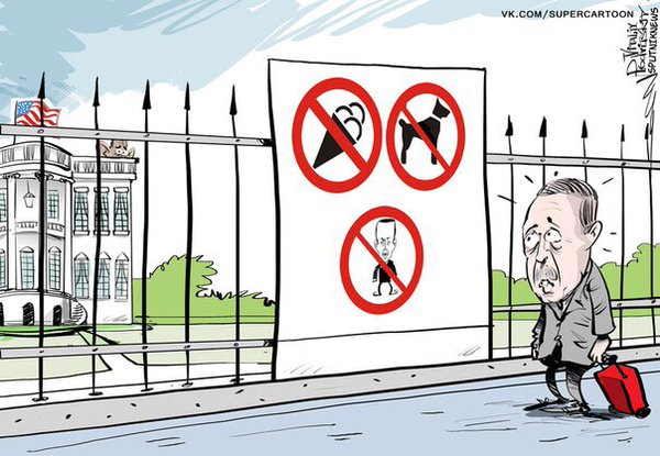 Obama Does Not Want to Meet Erdogan and Stays Away from the Opening of the Mosque