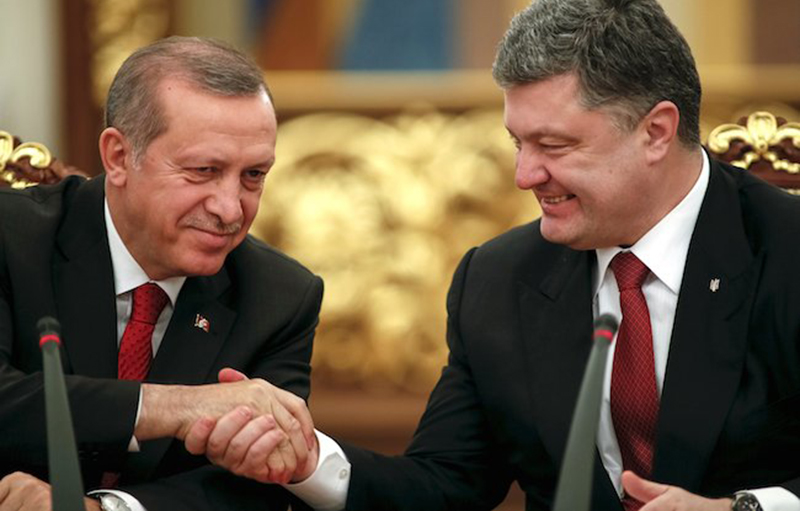 """Poroshenko-Erdogan: The Black Sea """"Axis"""""""