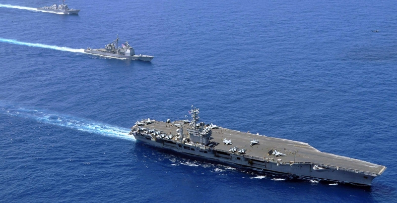 USA dispatches warships for South China Sea