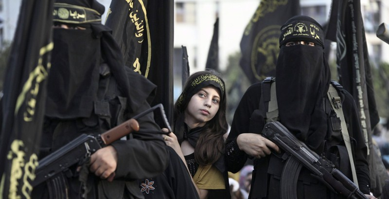 A 12 year old ISIS girl killed five women in Iraq