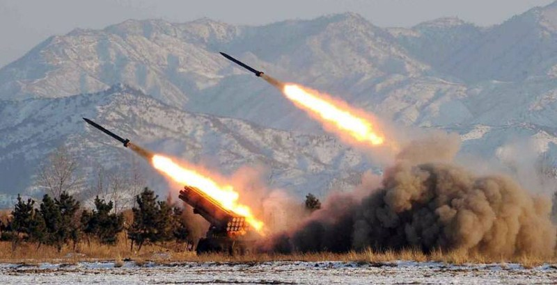 North Korea fires ballistic missiles amid the US-South Korea joint military drill