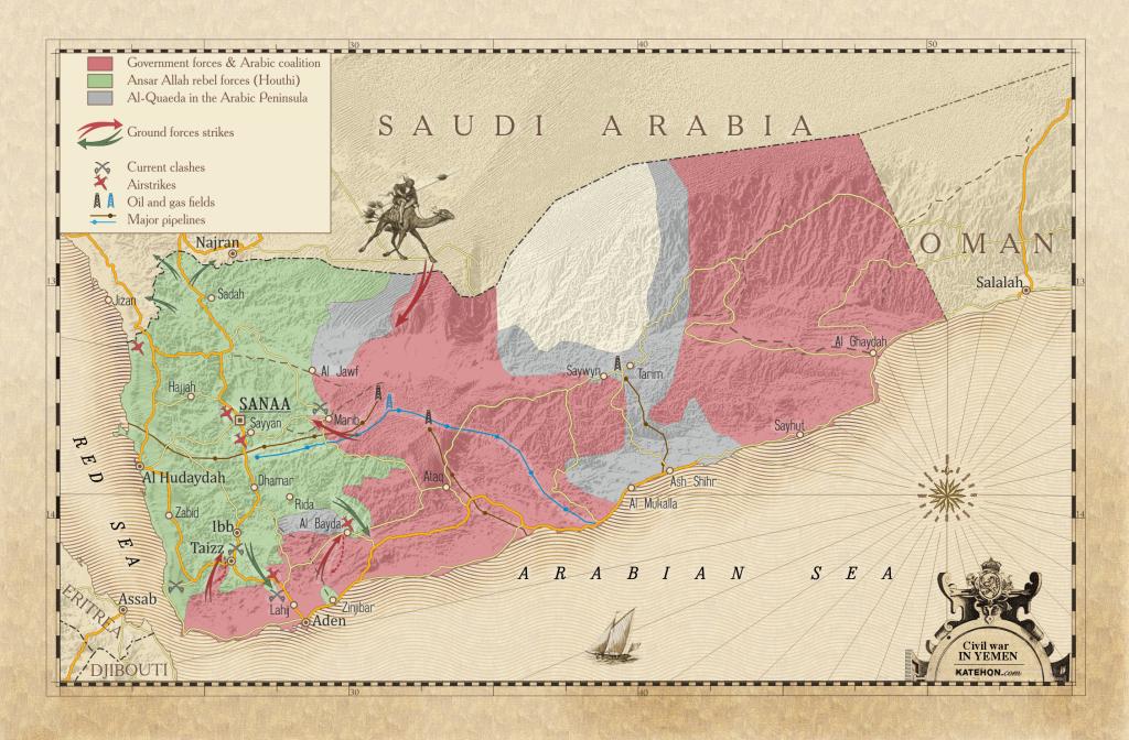 Saudi Arabia Is Collapsing in Yemen