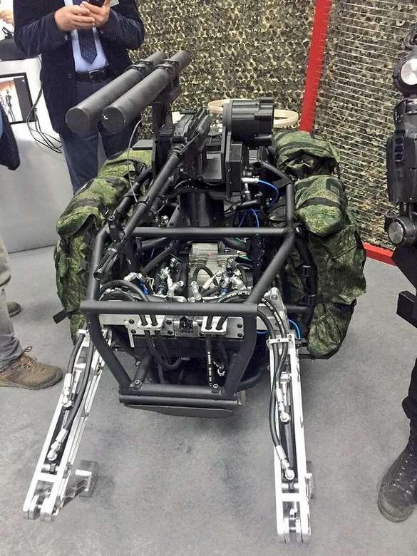Photo-report: Russia's Biomorphic Robots for Future Warfare