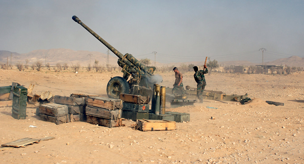 Russia repositions artillery to northern Syria: report