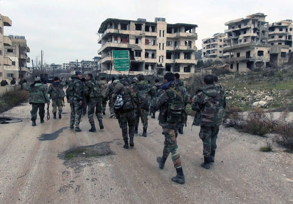 Army Units Foil an Attack by Jabhat al-Nusra Terrorists in Aleppo