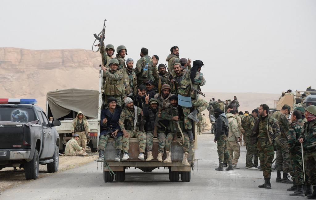 Significant Syrian Army Reinforcements Arive to East Damascus