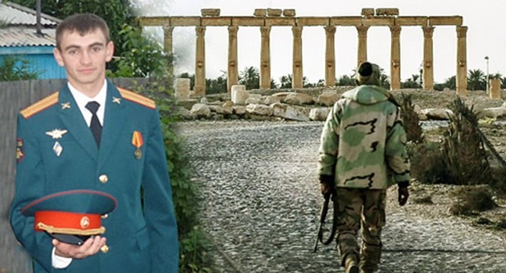 Body of Officer Killed During the Palmyra Liberation Handed Over to Russia