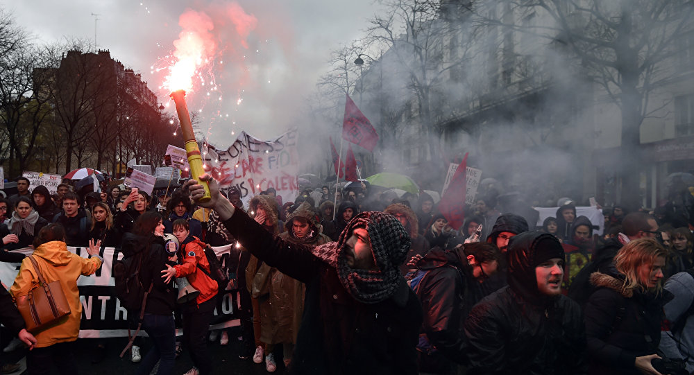 Protests In France Against The Labor-Law Reforms