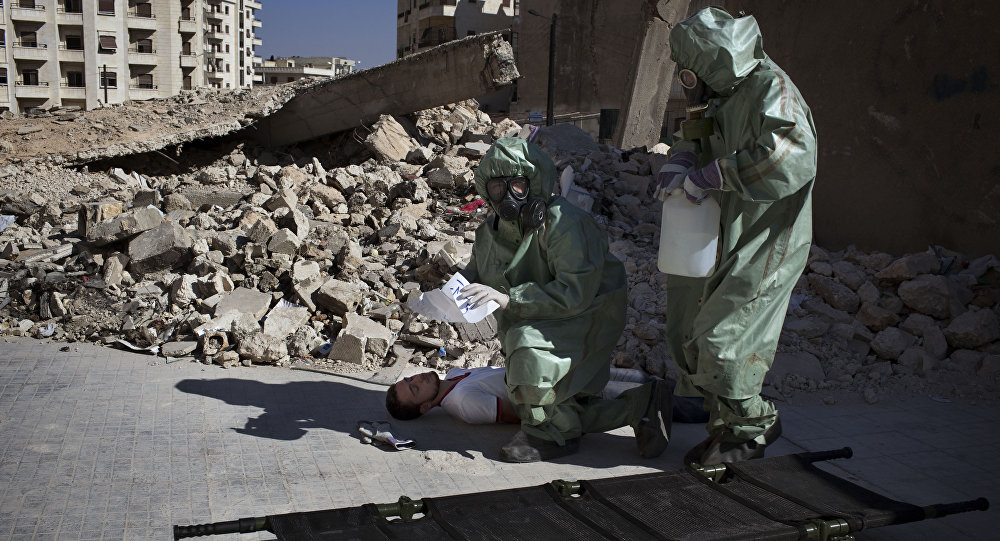 Russia Condems Use of Chemical Weapons in Syria