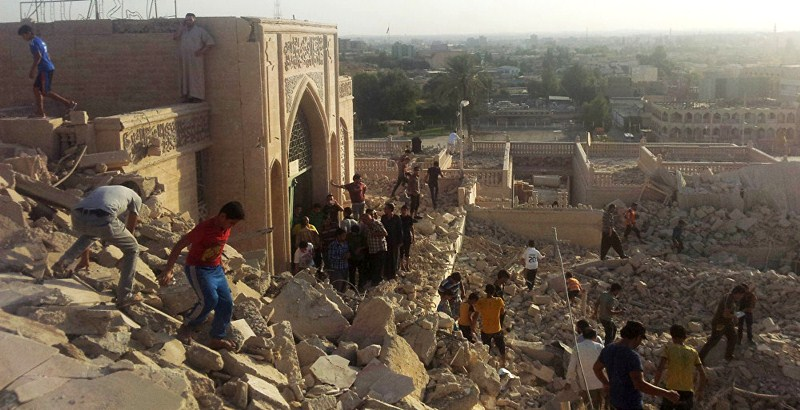 Iraq asks Russian support in restoring historic sites damaged by ISIS