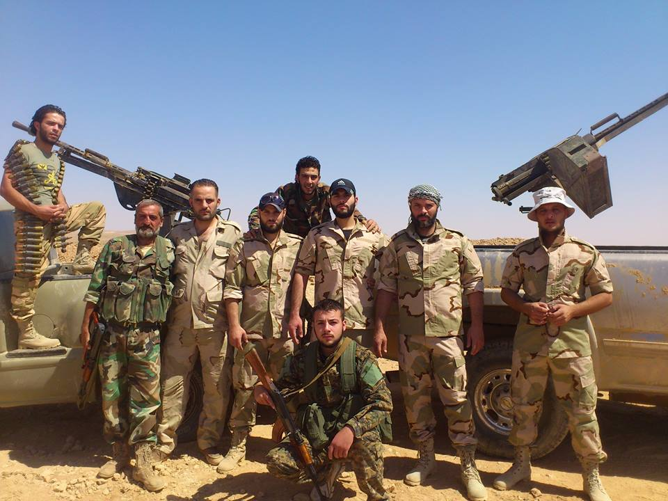 Syria: Tiger Forces Advance Towards Deir Ezzor