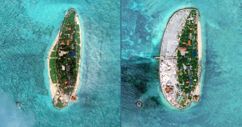 Two Case Studies that Illustrate the Growing Militarization of the South China Sea