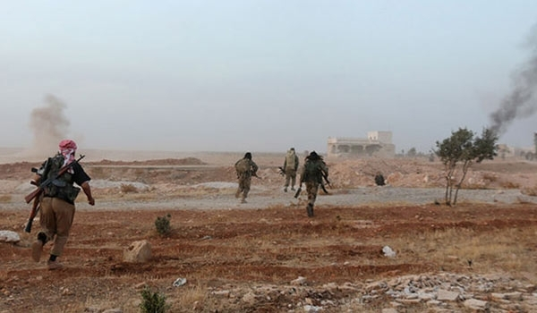 Terrorists retreat from strategic positions of northeast of Lattakia province