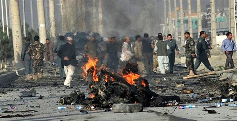 At least 6 killed in a powerful bomb blast in Central-Eastern Afghanistan