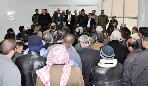 150 Militants Surrender to Syria's Government in Homs
