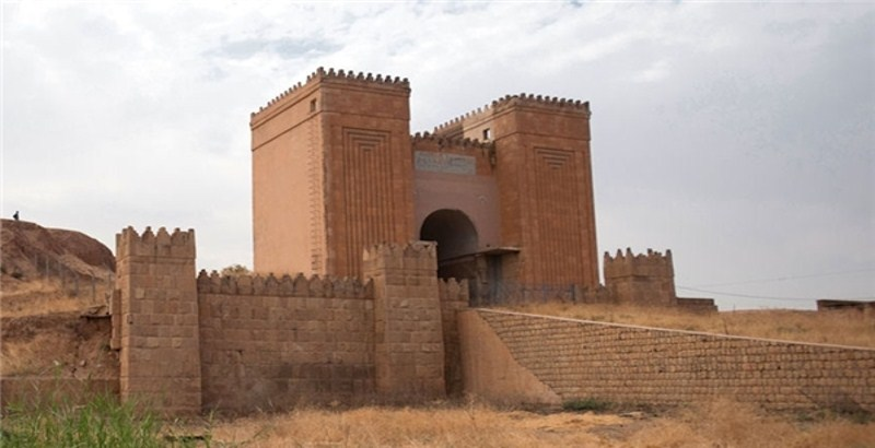 ISIS destroyed a 2,000-year-old gate near the Iraqi city of Mosul