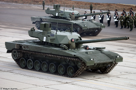 Russian Military Orders 100 T-14 MBTs