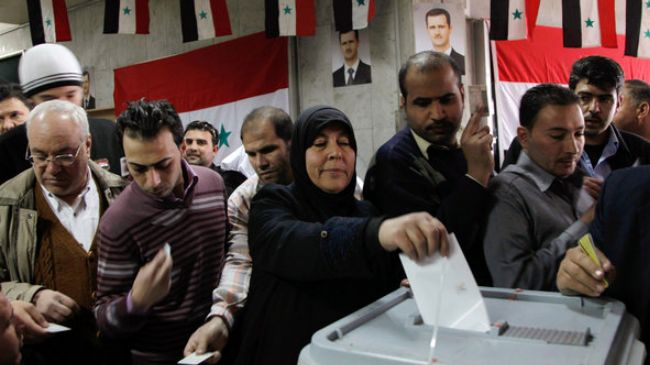 The Syrian Election Results