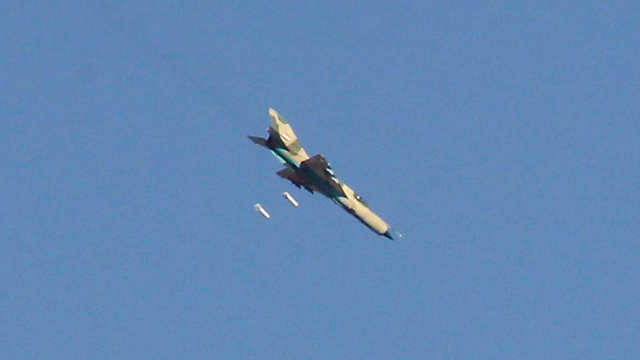 Syrian Air Force Destroyed ISIS Headquarters in Deir Ezzor