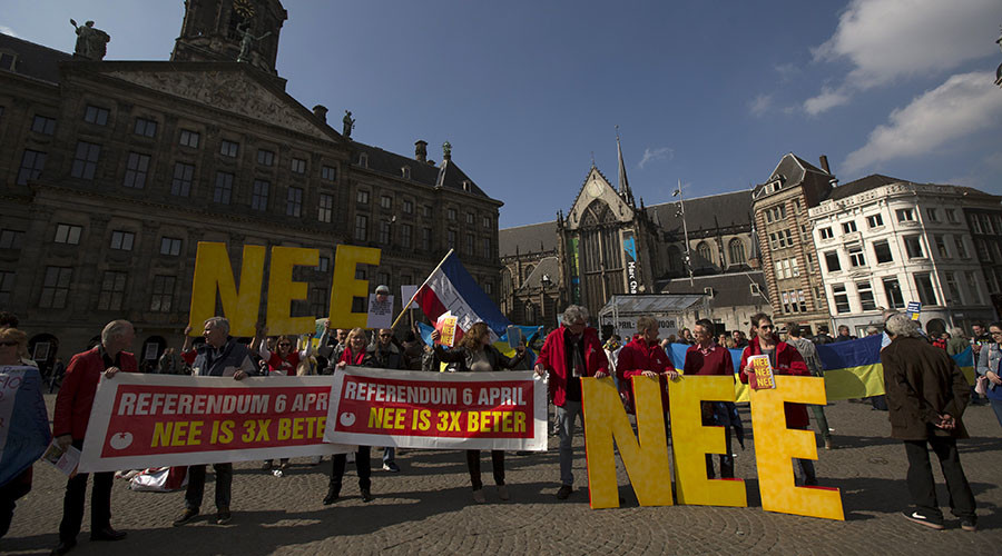 Dutch people are against closer EU ties with Ukraine: report