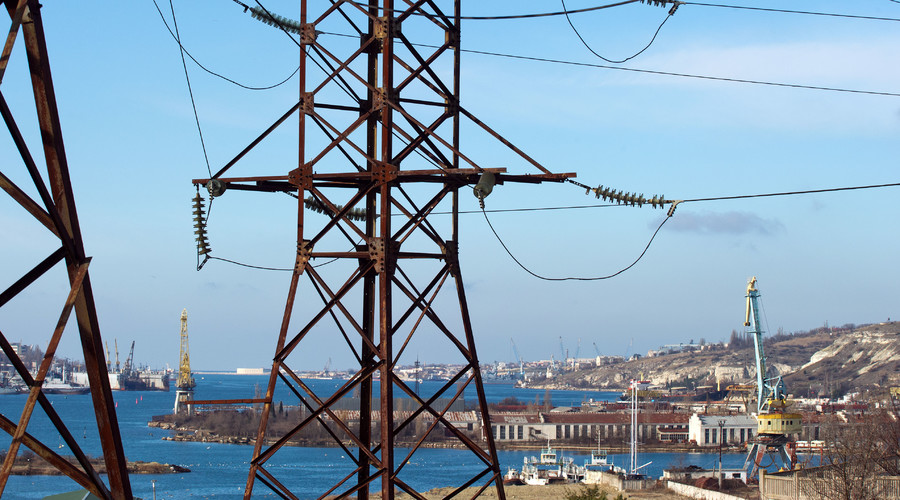 Russia: Energy Bridge to Crimea Is Fully Operational