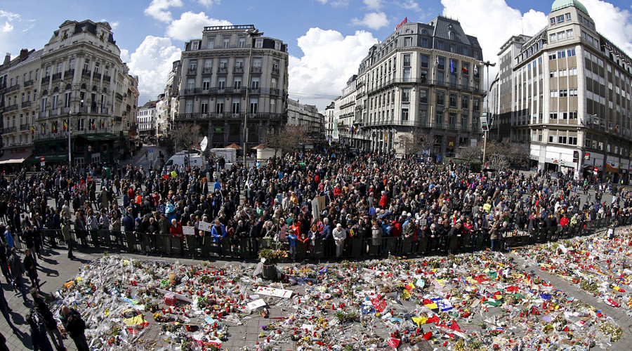 Thousands march against terror and hatred in Brussels