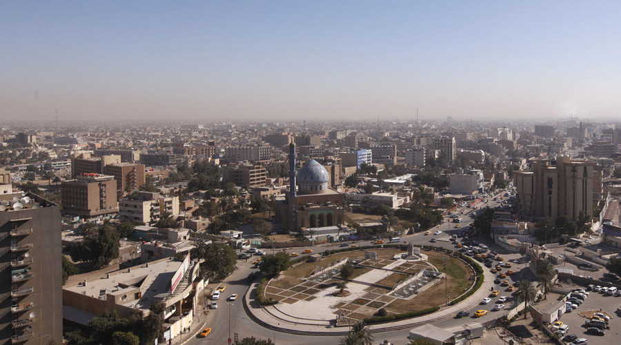 At least 9 killed in a suicide bombing at Baghdad mosque