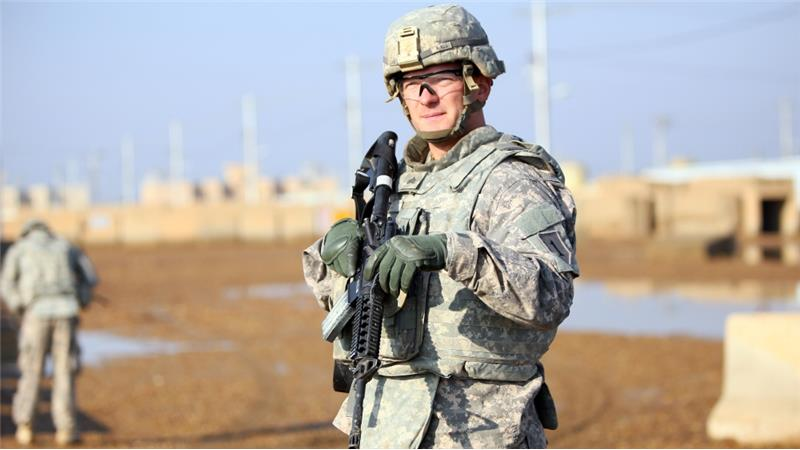 کمپ آمریکائیها در عراق