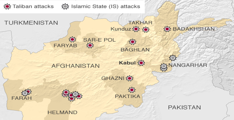 15 Taliban militants killed by Afghan security forces