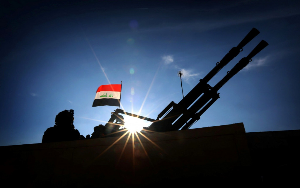 Iraqi forces liberated the city of Hit from ISIS Takfiri militants' occupation