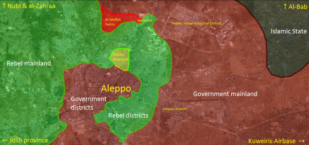 Syria's Forces Make Gains in Aleppo City