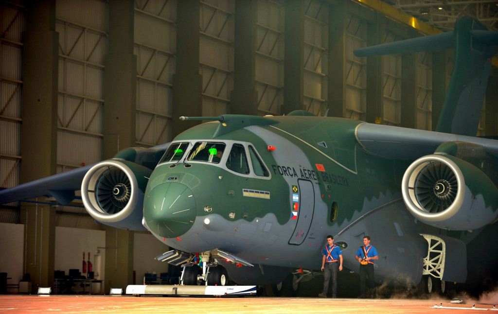 Brazil: Embraer Presented Freighter KC-390