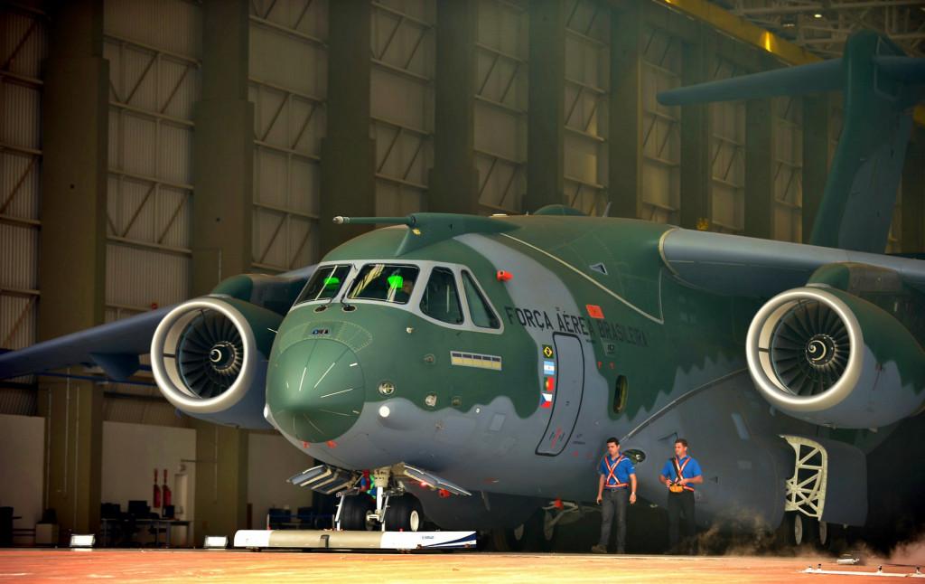 Brazil: Embraer Presented Freighter KC-390
