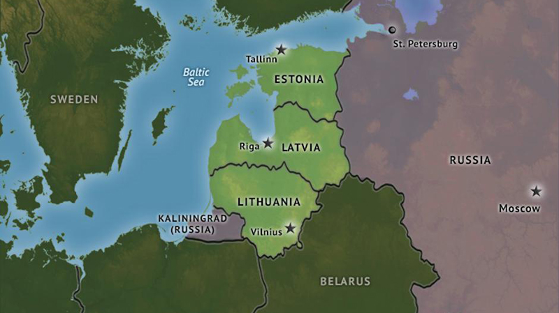 'Reds' in the Baltics
