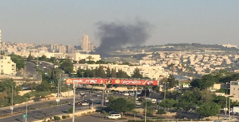 20 wounded in a bus explosion in Jerusalem