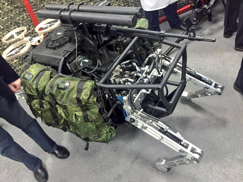 Media unveils Russian battle robots for future warfare