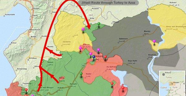 How Turkey Transfer Jihadis from Idlib to Northern Aleppo in Syria