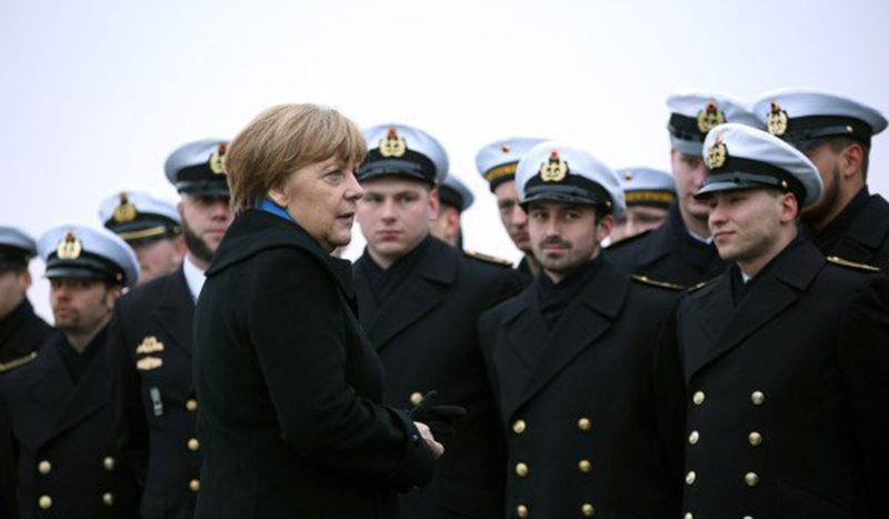 Merkel's Union Willing to Commit Military for Domestic Security