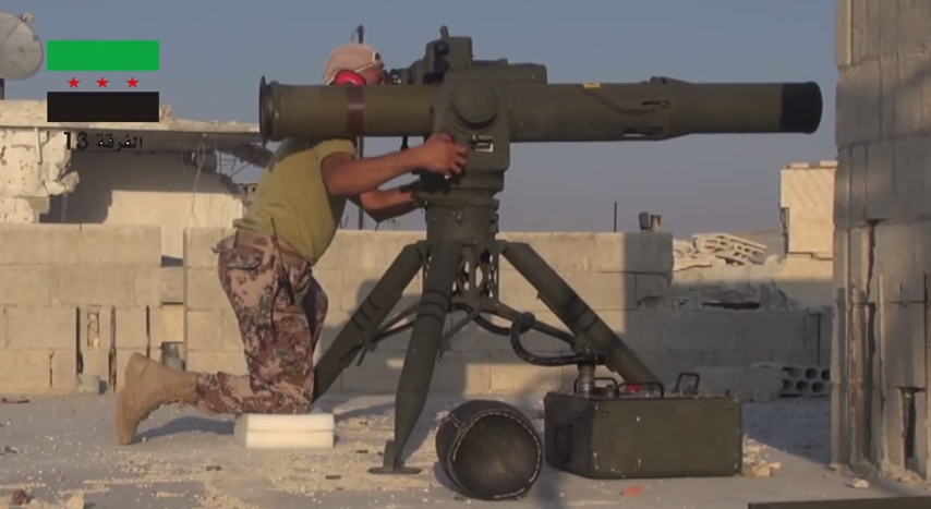 "Despite his age BGM-71 ""TOW"" still an effective weapon on the battlefield in the Middle-East"