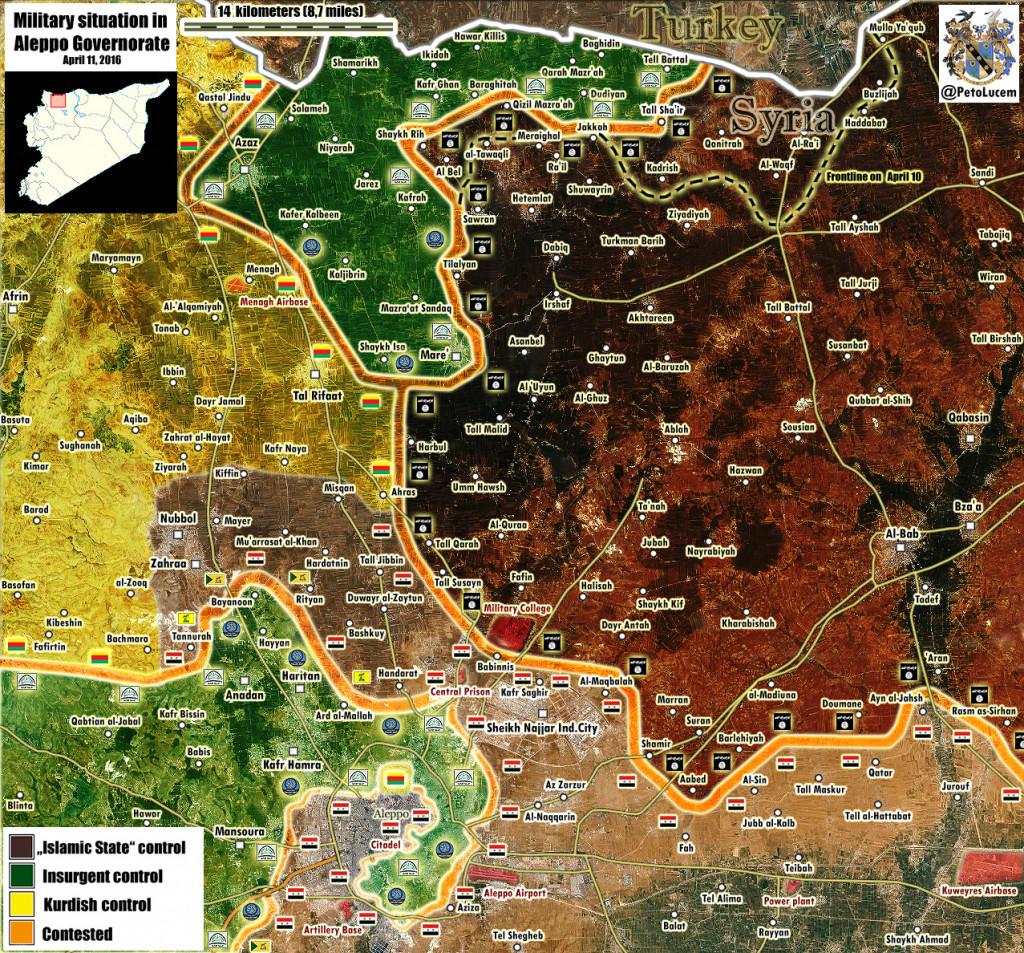 Russian MoD: Al-Nusra Deploys Up to 10,000 Fighters Near Aleppo