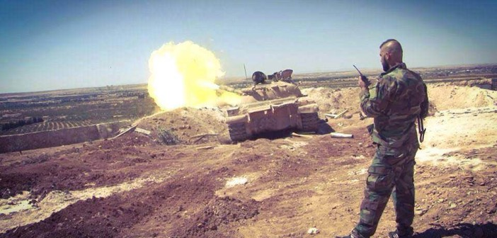 Syria: Tiger Forces Conduct Military Operations in Northern Palmyra