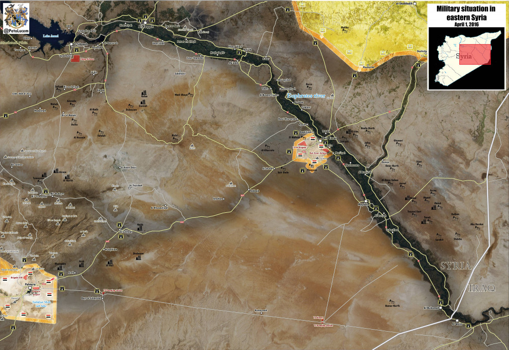 From Palmyra to Deir Ezzor. The Upcoming Campaign in Eastern Syria