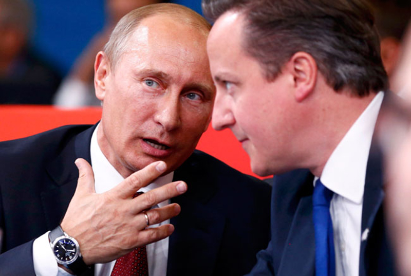They were searching for Putin, they found Poroshenko, Cameron...