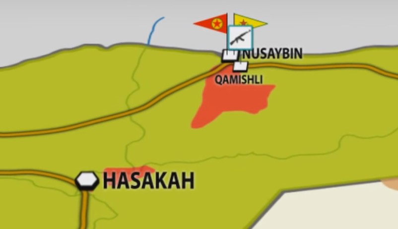 NDF, Assyrian Fighters CaptureSeveral Sites in Qamishli. Kurdish Units Target Airport