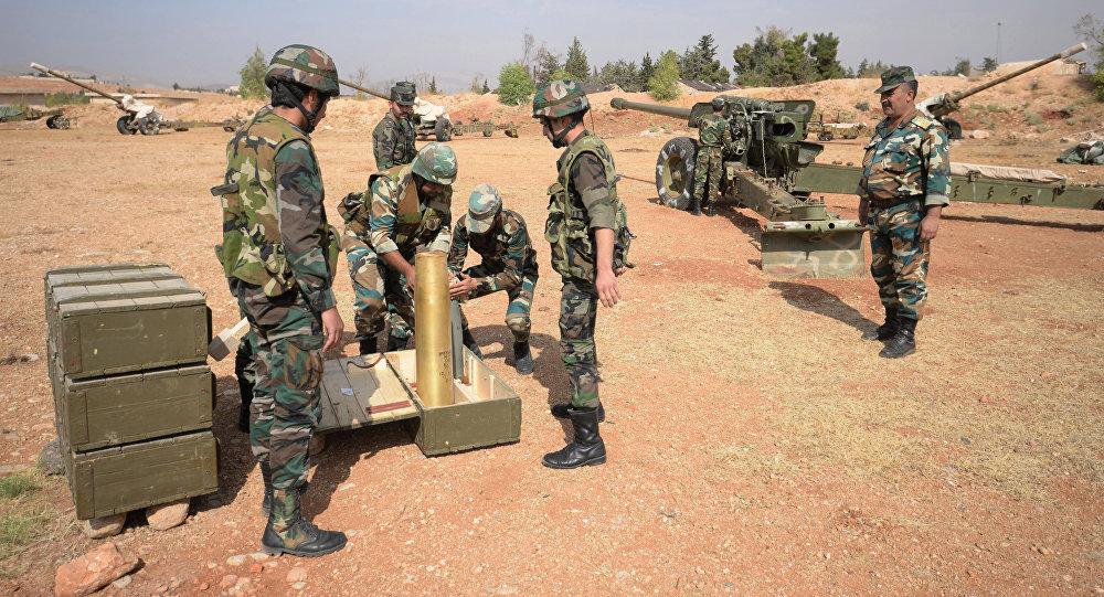 Syria's Forces Cut Off Al Nusra Supply Line in Marj Al-Sultan