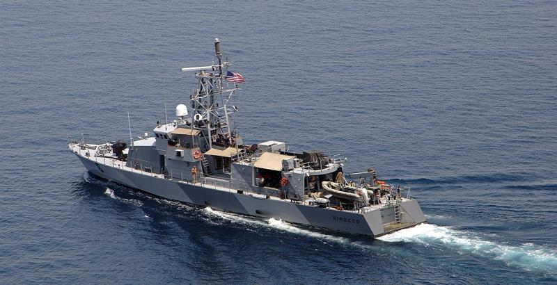 The U.S Navy seized Iranian weapons headed to Yemen in the Arabian Sea